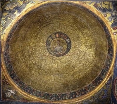 Ceiling of the chapel of San Vittore.