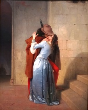 The Kiss - Francesco Hayez.