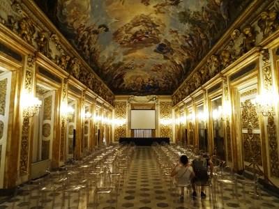 The Galleria degli Specchi.