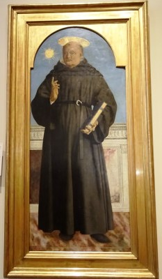 Nicholas of Tolentino - Piero della Francesca.