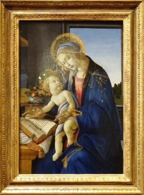 Madonna of the Book - Botticelli.