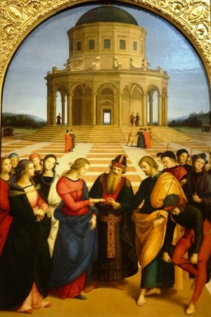 The Marriage of the Virgin - Raphael.