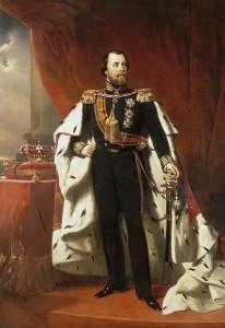 Portret van koning Willem III door Nicolaas Pieneman (foto via Wikimedia Commons).
