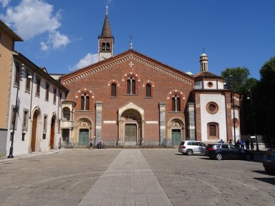 The Sant'Eustorgio.