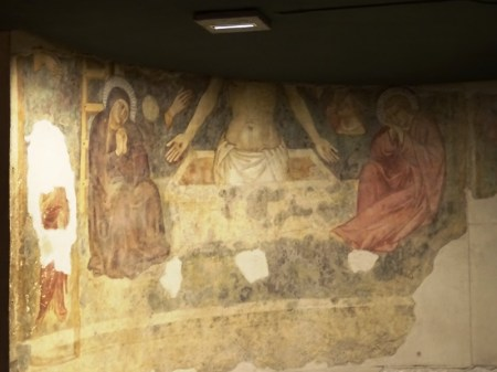 Fresco by a follower of Giotto.