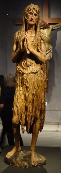 The Penitent Magdalene by Donatello.
