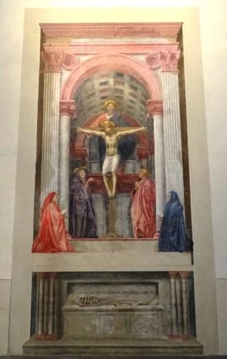Trinity by Masaccio.