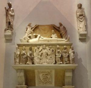 Tomb of Azzone Visconti.