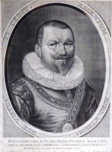 Portret van Piet Hein, naar Willem Hondius (Eerste Kamer, Den Haag).