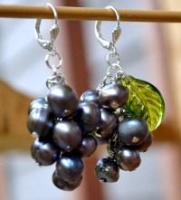 Tutorial: Grape Cluster Earrings | Corvus tristis: Science ...