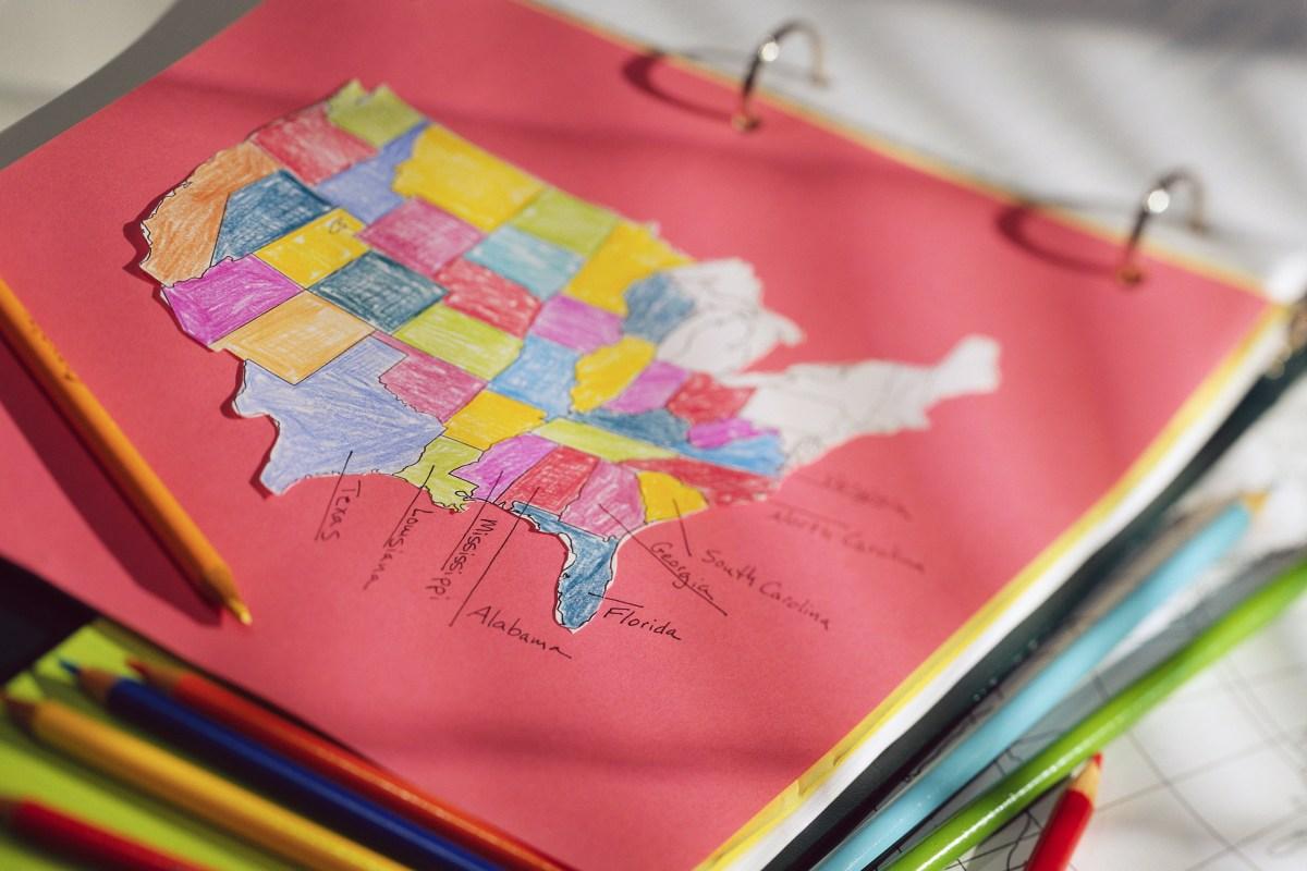 CCSS map