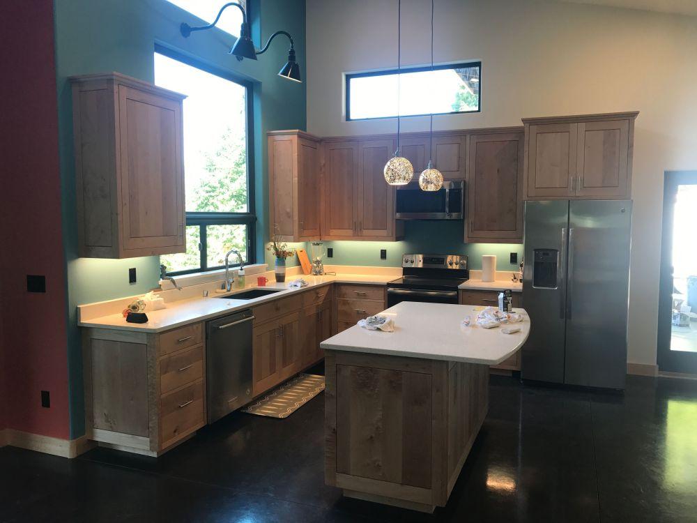 medium resolution of kitchen lighting in a craftsman home