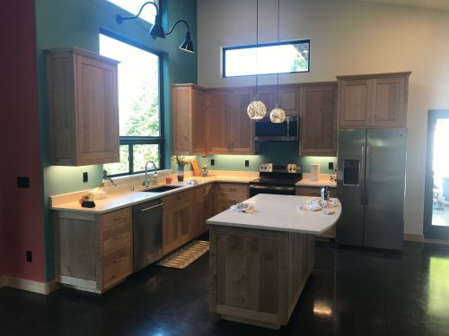 small resolution of kitchen lighting in a craftsman home