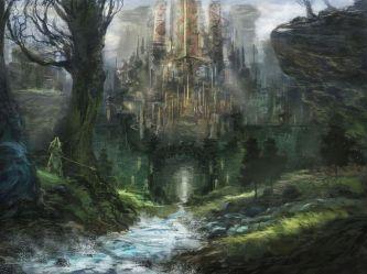 Concept Art Elven City 4
