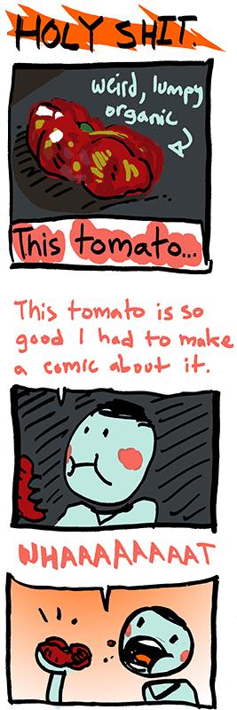 Day 988 – Really Good Tomato