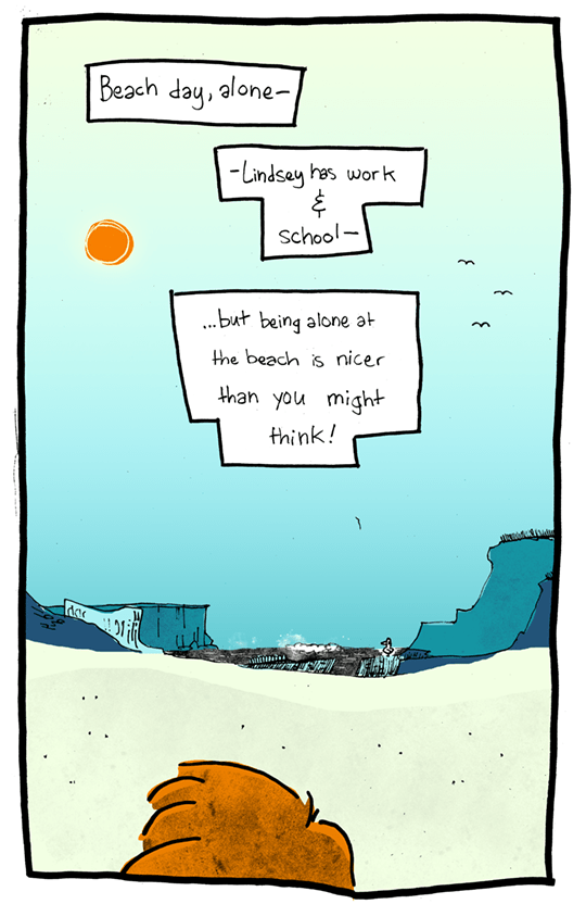 58 – Beach Day, Alone