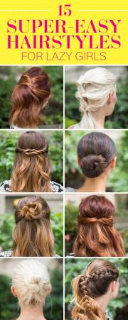 super easy hairstyles girls