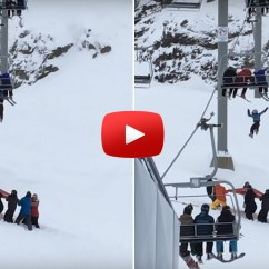 Chair Lift Accident Cane Chairs New Zealand 11 Year Old 39s Fall From Ski Captured In Harrowing Video