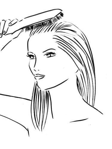 Hair Style Clipart