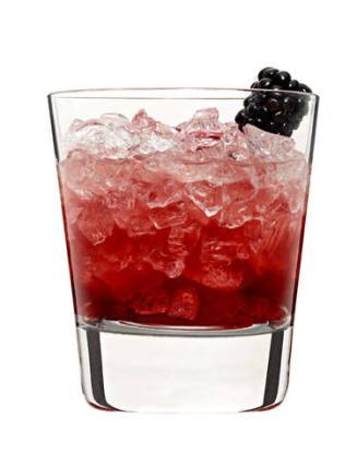 2 oz. Cointreau1 oz. lemon juice½ oz. Crème de MureGarnish: blackberryCombine triple sec and lemon juice in a cocktail shaker filled with ice. Shake and strain into a rocks glass filled with crushed ice. Top with Crème de Mure. Garnish with a blackberry.<br /><br />