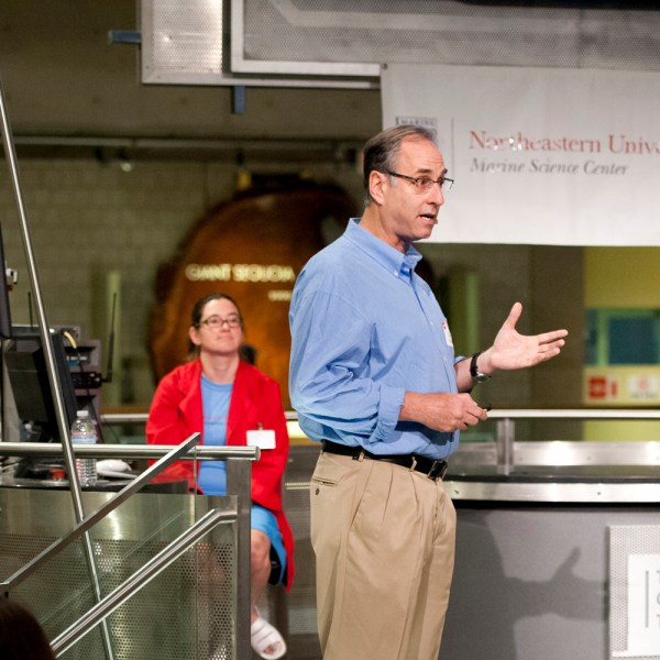 Dan Distel, Executive Director of the Ocean Genome Legacy