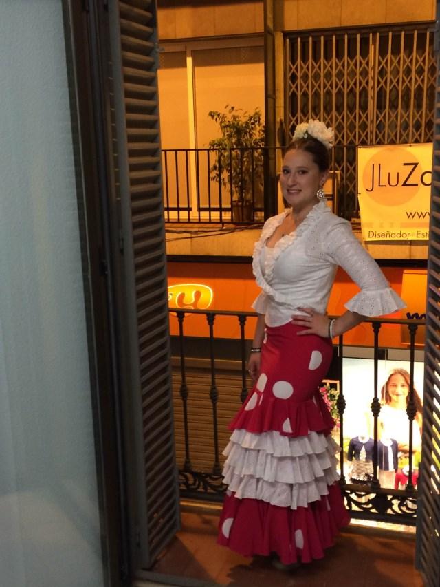 Charlotte Pratt in Spain