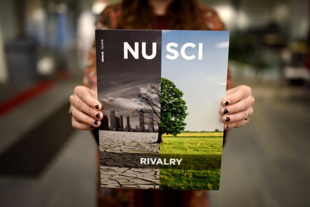 The cover of the latest NU Sci magazine