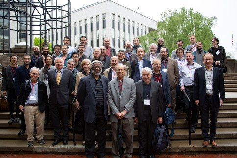 """Renowned physicists came from all over to attend """"Pran Nath Fest,"""" a two-day conference at Northeastern, in honor of Pran's 80th birthday."""