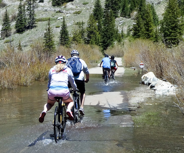 Hop on any of the gondolas with your bike or if you are up for a serious challenge, use pedal. Vail Pass From Frisco Through Copper Mountain