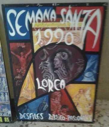 COSAS DE LORCA - CARTEL SEMANA SANTA 1990