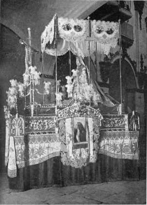 COSAS DE LORCA - Virgen de los Dolores Paso Azul