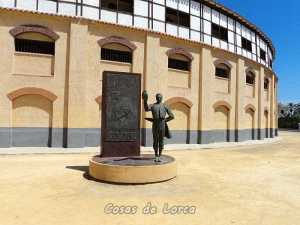 MONUMENTO A PEPIN JIMENEZ PLAZA TOROS LORCA