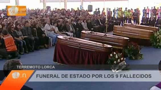 FUNERAL POR LOS 9 FALLECIDOS EN LORCA