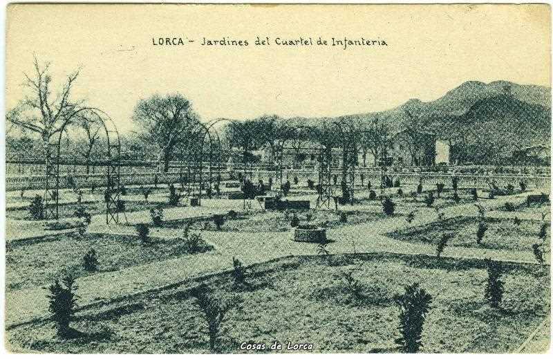 Cuartel jardines 1920 cosas de lorca for Jardines de lorca
