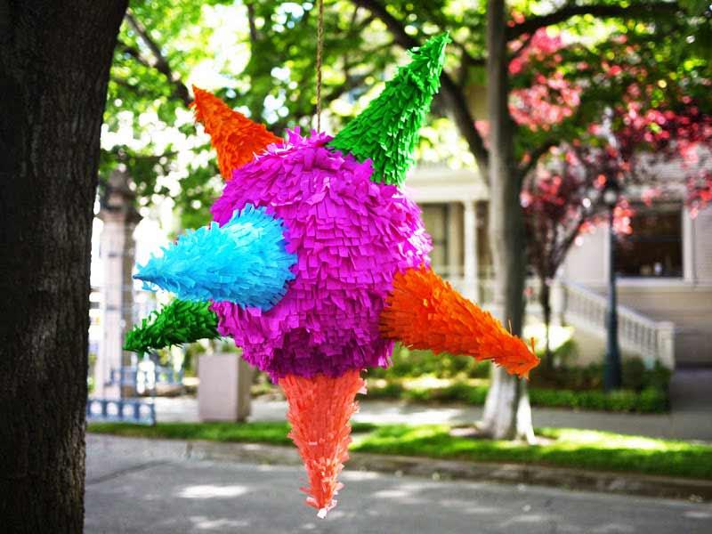 4 ideas para hacer piatas caseras para fiestas infantiles  Manualidades