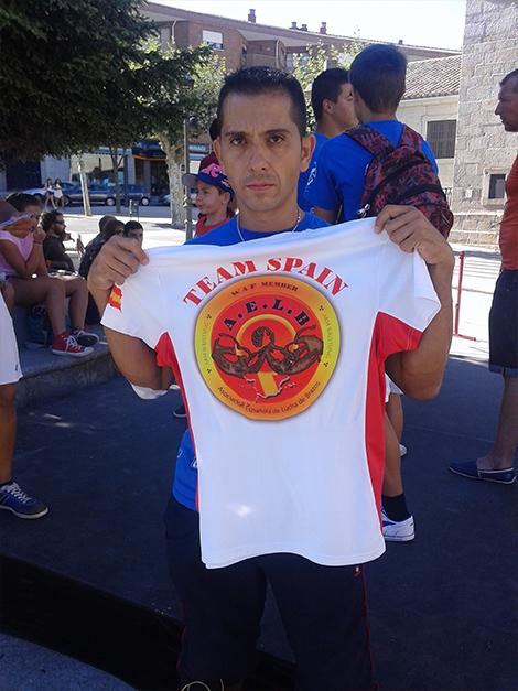 Camiseta equipo naciponal de lucha de brazos2