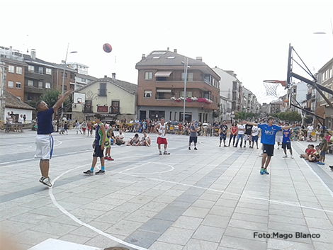 Concurso triples_Torneo Las Navas del Marqués 3x3