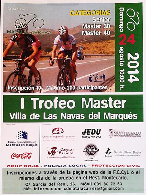 I Trofeo Master Villa de Las Navas