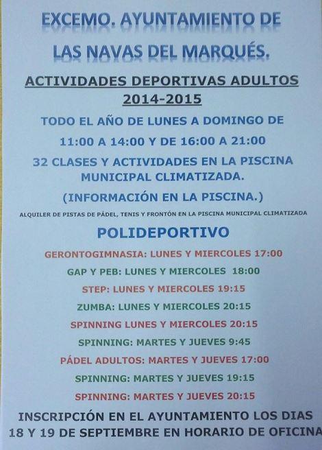 actividades_para _adultos_Las Navas del Marqués