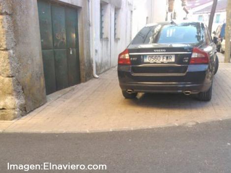 ¿Quién dijo, problemas para  aparcar?