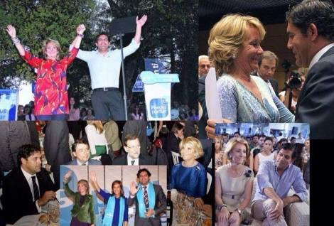 Aguirre no conocía al alcalde de Villalba