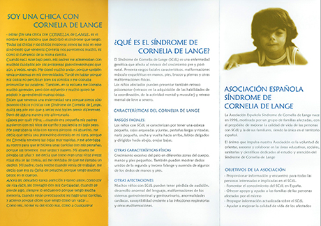 Asociación Española Síndrome Cornelia de Lange.
