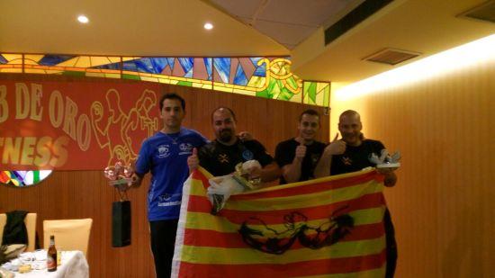"""Marino el """"capi"""" del equipo también hizo un 3º en la categoría Máster"""