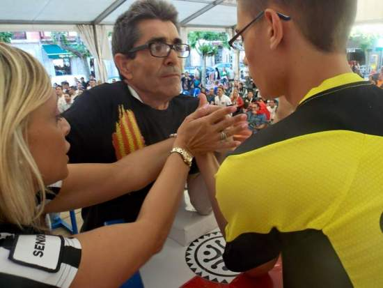 Final izquierda senior 60kg. Gabriel Negru vs Juan Miras de Barcelona