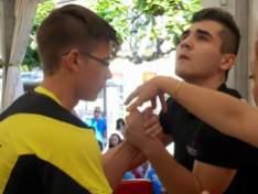 Gabriel Negru vs Victor Sagra de Valencia