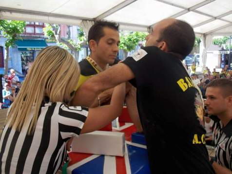 Marino con Miguel Batres