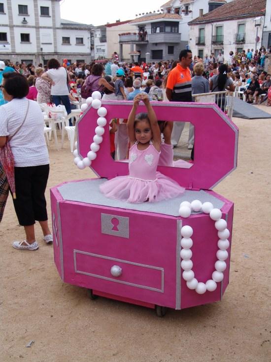 Caja de Música con Bailarina