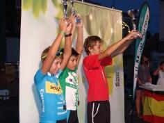 NIÑOS DE 10 A 11 AÑOS-1º Álvaro Lopez;2º Tomas De Jong;3º Alejandro Montañez