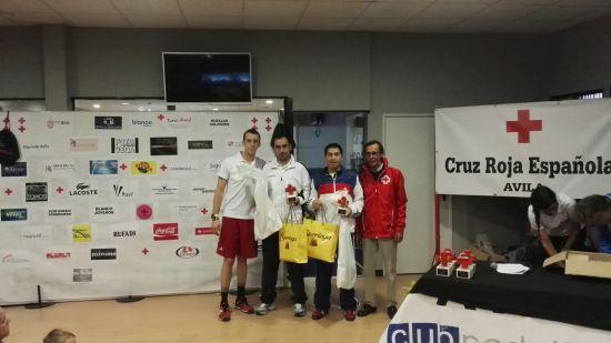 Campeones 3ª MASCULINA. , José David Vizcaíno y Javier Rosado