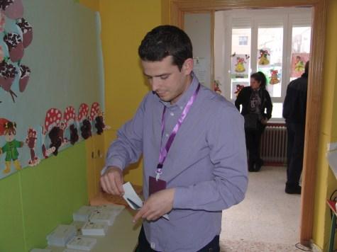Diego Segovia, secretario del Círculo de Podemos en Las Navas